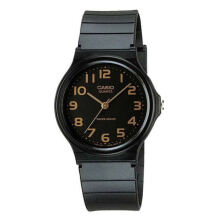 Casio Unisex Analog Black Resin Watch - MQ-24-1B2LDF