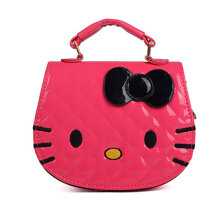 Kawaii Cute Design Cartoon Cat Shape Children Girls Single Shoulder Bag