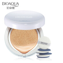 BIOAQUA Whitening Air Cushion BB Cream Moisturizing Oil Control Face Cream Concealer Nude Make up Base Liquid Foundation