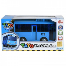 Tayo The Little Bus Diecast Tayo Pull Back Original Blue - Iconix