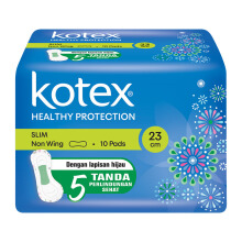 KOTEX Soft & Smooth Slim Non Wing - 10 S