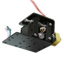 [kingstore]Upgrade Remote Metal Extruder Head Motor 17 Stepper Motor Kit For 3D Printer Black Black