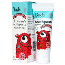 Buds for Children toothpaste with natural Xylitol (1-3 years) Strawberry