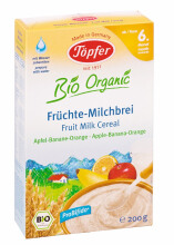 TOPFER  Fruit Milk Cereal Apple Banana Orange 200 gr