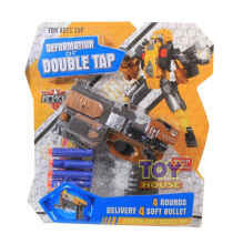Toys House - Mainan Pistol Transformer Robot - Deformation Of Double Tap Hw501