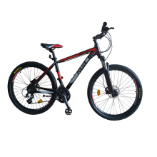 Police MTB Vancouver 1.0 Alloy Size 26 - Hitam Merah
