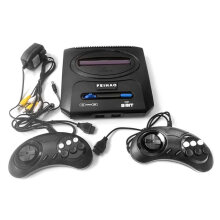 [OUTAD] 500 in 1 Classic Appearance Home Double Controller TV Video Game Console Black