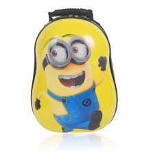 [COZIME] 13 Inch Children's Bag Hard Shell Bag Cartoon Cute Pupil Hard Shell Backpack Yellow