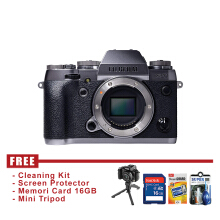 Fujifilm X-T1 Body Only Silver - FREE Accessories