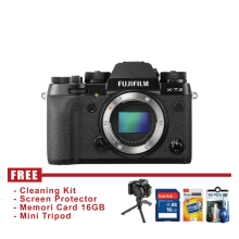 Fujifilm X-T2 Body Only Hitam FREE Accessories