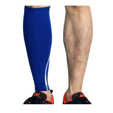 SBART 2pcs Basketball Support Socks Sleeve Compression Brace Wrap Running Leg Protection Shin Guards