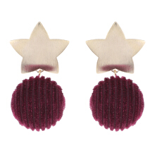 VOITTO Earrings - V32 Red wine