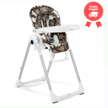 Peg Perego Prima Pappa High Chair Zero 3 – Dino Park Marrone