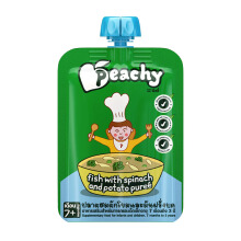 PEACHY Puree Fish Pie with Spinach Pouch - 125gr