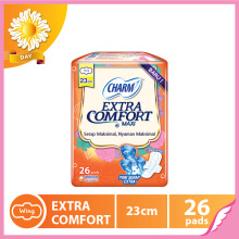 CHARM Pembalut Extra Comfort Maxi Wing 23cm 26 pads