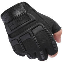Farfi Men's Army Military Outdoor Tactical Combat Bicycle Airsoft Half Finger Gloves