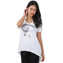 CONVERSE Gradient Star Fill Femme Tee - White
