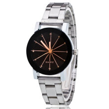 Quartz watches Boys Girls Wristwatch Lover Gift Wrist Watch silver