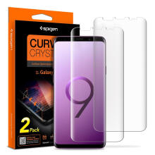 Spigen Galaxy S9 Plus Screen Protector Film Curved Crystal HD