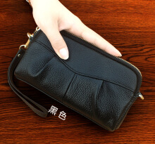Allgood Fashion  New Women Korean Version Large-capacity PU Leather Clutch Bag Mobile Phone Bag Shell Wallet