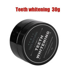 Farfi 30/20/10g Adult Dental Care Teeth Whitening Cleaning Activated Charcoal Powder teeth whitening 30g