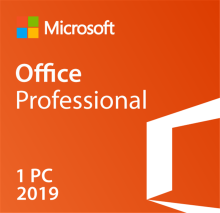Microsoft Office Professional 2019 Retail Boxed License key