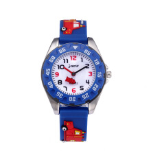 CURREN Fashion Children Watch For Boy Cartoon Kid Watch Quartz Wristwatches Blue