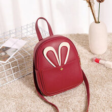 Fashion Women Bag Backpack Cross Body Messenger Bag Casual Travel Bag red