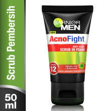 GARNIER Men Acno Fight Anti- Acne Scrub in Foam 50ml