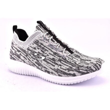 Skechers Ultra Flex :Bright Horison W - White Black 12831WBK