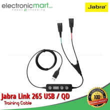 AyoBelanja - Jabra Link 265 USB / QD Training Cable Original