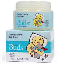 Buds Organics Calming Tummy Rub Cream 30ml