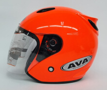 AVA SS7 Helm Half Face - Orange