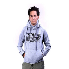 G-SHOP - MEN SWEATER JAKET HOODIES DISTRO PRIA - FHM 1466 - ABU SIZE- M