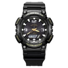 Casio AQ-S810W-1B Sports double display waterproof electronic watch-Black