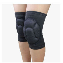 Jantens New Thickening Kneepad Cycling Knee Protecto Black