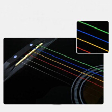 NEW One Set 6pcs Rainbow Colorful Color Strings For Acoustic Guitar  Accessory Trail-blazer21 others