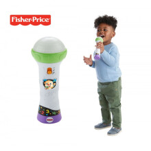 Fisher Price Laugh & Learn Rock'n Record Microphone