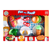 EMCO Lil Chefz Food Box Set Medium Burger 9014