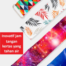 Fancy Lomira - inovatif jam tangan kertas yang tahan air