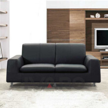 Ivaro - Sofa Grus - Black Hitam All Size