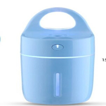 Jantens Ultrasonic Humidifier Colorful Led Light for Home Car Office Essential Oil Aroma Diffuser Purifier