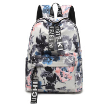 Keness New Chinese style casual backpack nylon backpack female student bag spot