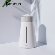 Baseus Intelligent Power Off Humidifier with LED light USB Air Purifier Hydrating Spray 380ml For Home Mute Office Bedroom Car