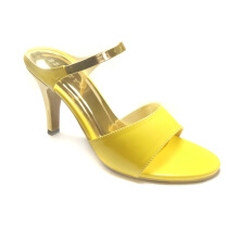 Beauty Shoes 1019 Heels Yellow Yellow 40