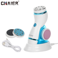 CNAIER AE-909B Electric Foot Massager Unisex For Feet Pedicure Heel Tools Rechargeable Dead skin Beauty And Health Care SPA