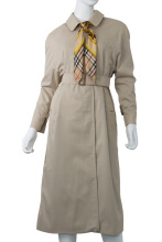 Pre-Owned Burberry Bosbury Long Trench Coat
