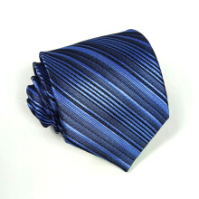 HOUSEOFCUFF Dasi Neck Tie Motif Wedding Best Man BLUE LISTED TIE Blue