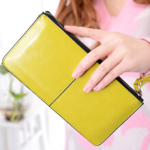 Si Ying S421 Import Ms. Wallet / Korea original / Long zipper wallet