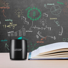 LESHP BM15 Black 20HZ-20KHZ Portable Mini Bluetooth Speaker Wireless Speakers Black